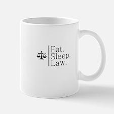 Eat. Sleep. Law. (Scales) Mug