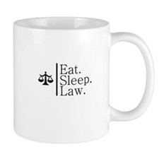 Eat. Sleep. Law. (Scales) Mug