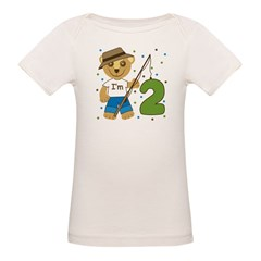 I'm 2 Fishing Bear Tee