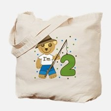 I'm 2 Fishing Bear Tote Bag