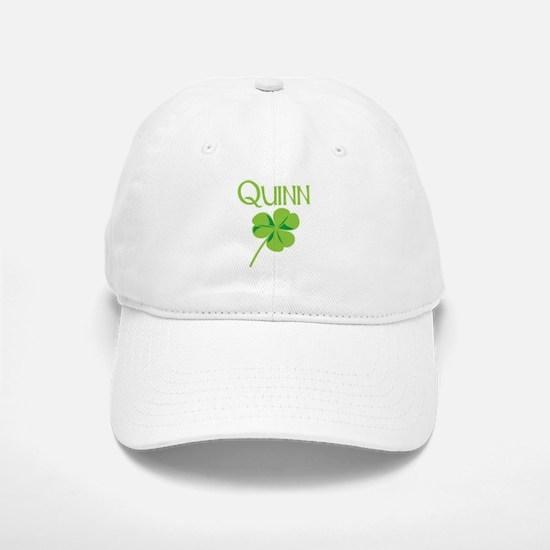 Quinn shamrock Baseball Baseball Cap