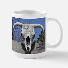 Bull Skull Mug