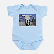 Bull Skull Infant Bodysuit