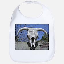 Bull Skull Bib