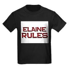 elaine rules T