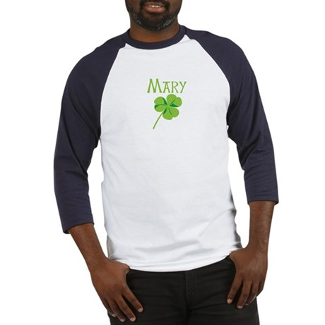 Mary shamrock Baseball Jersey