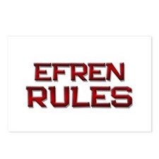 efren rules Postcards (Package of 8)