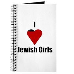 I Love (heart) Jewish Girls Journal