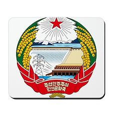 North Korea Coat of Arms Mousepad