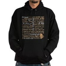 Shakespeare Insults Hoodie