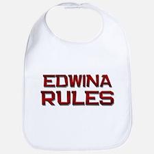 edwina rules Bib