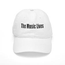 """The Music Lives"" Baseball Cap"