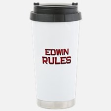 edwin rules Travel Mug