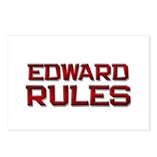 edward rules Postcards (Package of 8)