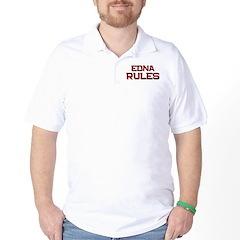 edna rules Golf Shirt
