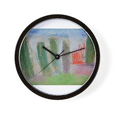 Tom's Landscape Wall Clock