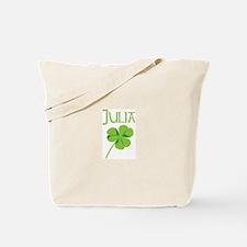 Julia shamrock Tote Bag