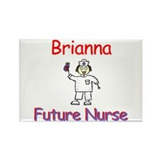 Briana - Future Nurse Rectangle Magnet