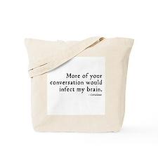 Coriolanus Insult Tote Bag