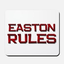 easton rules Mousepad