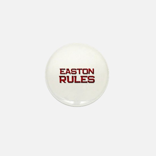 easton rules Mini Button