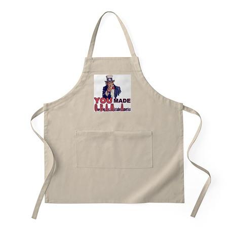 Uncle Sam on Obama BBQ Apron
