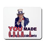 Uncle Sam on Obama Mousepad