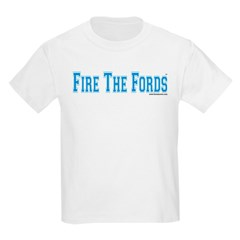 Fire The Fords Kids T-Shirt