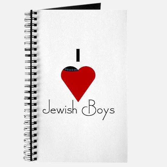 I Love (heart) Jewish Boys Journal