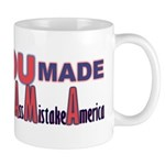 Uncle Sam on Obama Mug