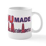 Uncle Sam on Obama Mug