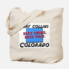 fort collins colorado - been there, done that Tote
