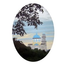 Cretian Landscape - View of S Oval Ornament