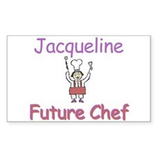 Jacqueline - Future Chef Rectangle Decal