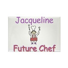 Jacqueline - Future Chef Rectangle Magnet