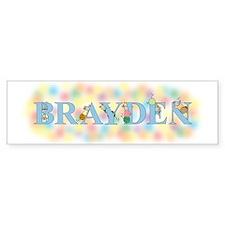 """""""Brandon"""" with Mice Bumper Bumper Sticker"""