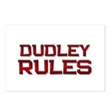 dudley rules Postcards (Package of 8)