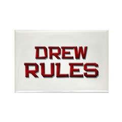 drew rules Rectangle Magnet (10 pack)