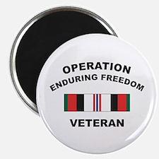 """Afghanistan Veteran 2.25"""" Magnet (10 pack)"""