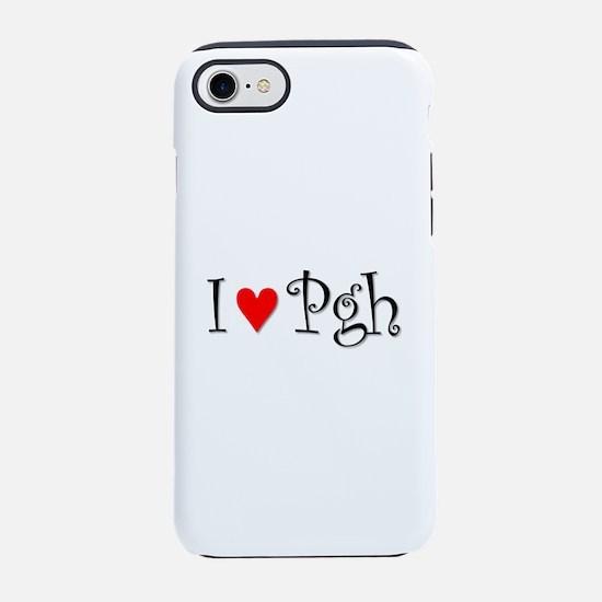 I Love Pittsburgh iPhone 7 Tough Case