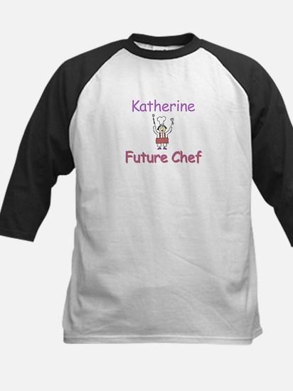 Katherine - Future Chef Kids Baseball Jersey