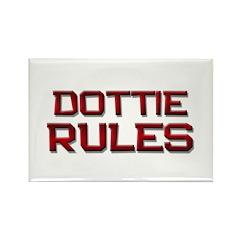 dottie rules Rectangle Magnet