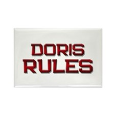 doris rules Rectangle Magnet (10 pack)