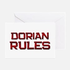 dorian rules Greeting Card