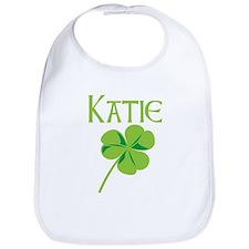 Katie shamrock Bib