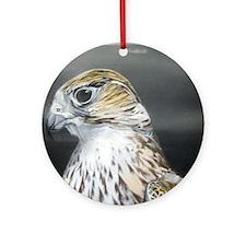 Falcon Ornament (Round)