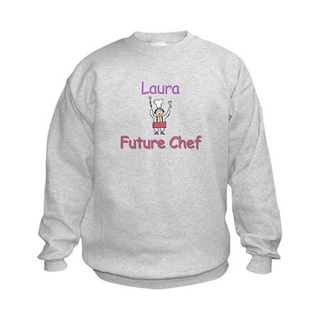 Laura - Future Chef Kids Sweatshirt