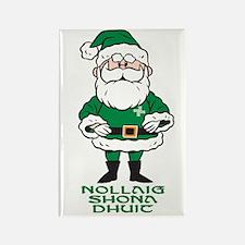 Santa O'Claus Rectangle Magnet