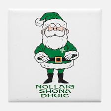 Santa O'Claus Tile Coaster
