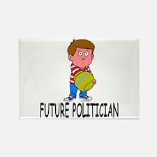 Future Politician Rectangle Magnet